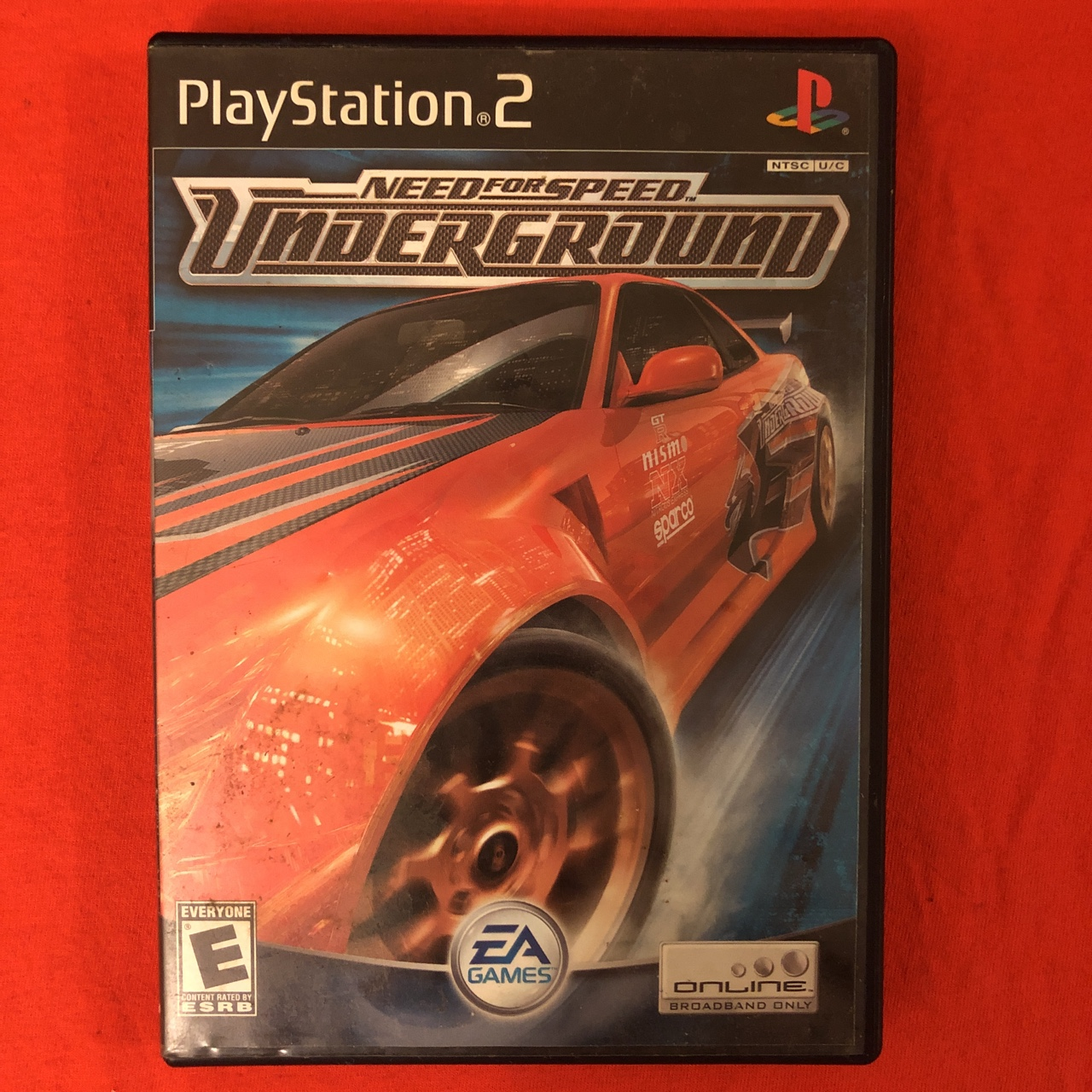 Ps2 Need For Speed Underground Video Game Depop
