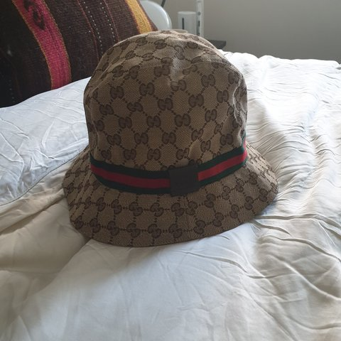 35ba7f8e798 Gucci Bucket Hat size XL In great condition Please get in - Depop
