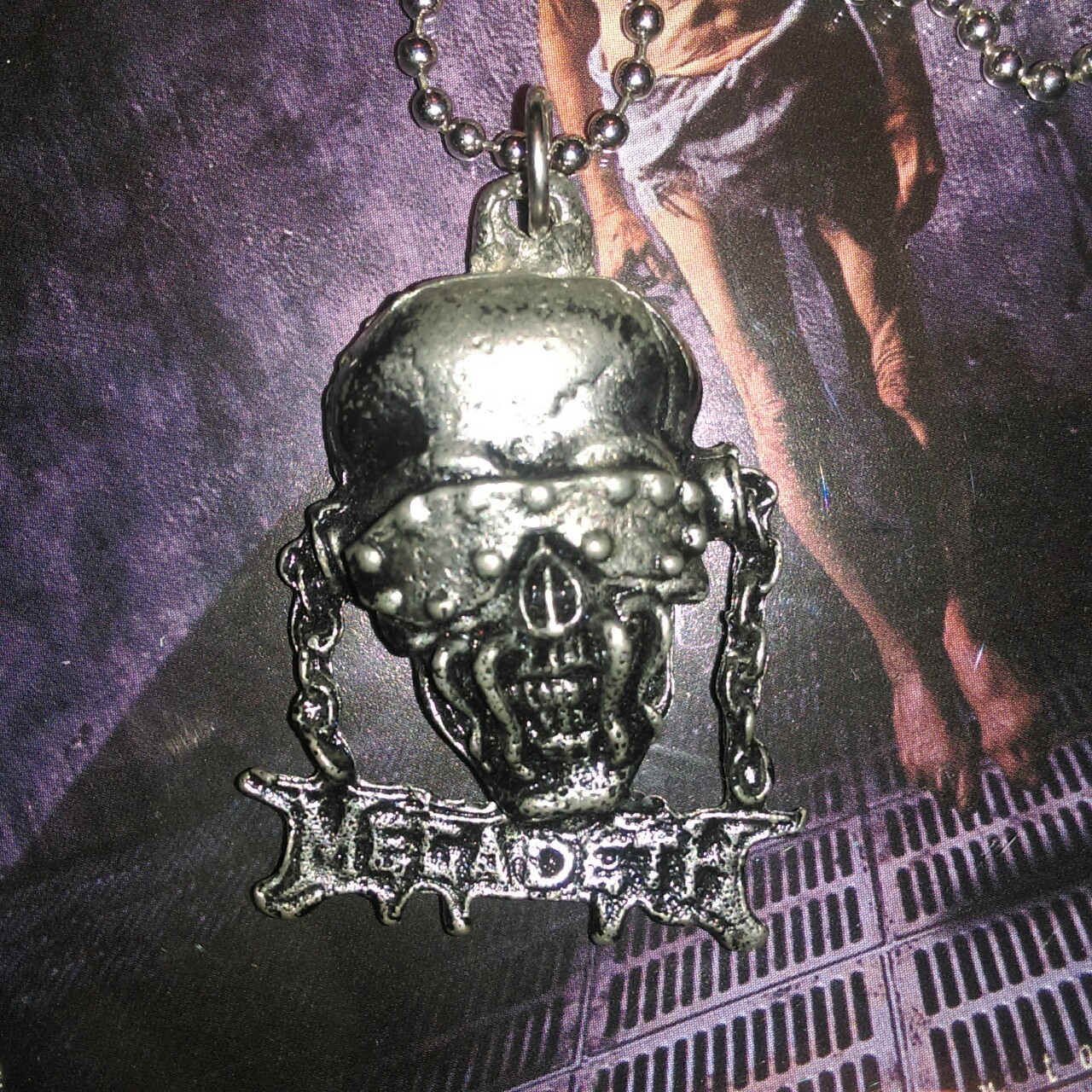 Megadeth Limited Edition NEW PENDANT Vic Necklace