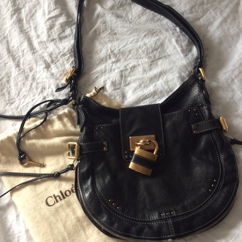 8f496b055d65 Large Chloe saddle bag