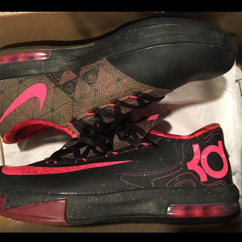 8aab774d832c Nike KD 6 meteorology. Worn 1 time. Comes with box - Depop