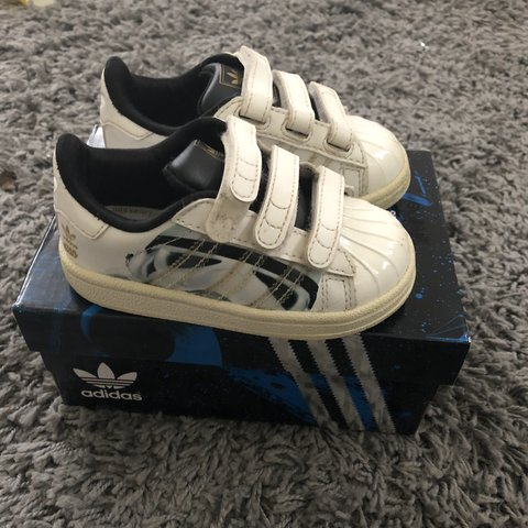 promo code f5e07 24405  macgowanc. last year. Basingstoke, UK. Adidas superstars star wars  stormtrooper special edition.