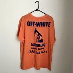 647ae581 Off White x Nike NRG A6 Black Tee Deadstock Large Free #A6 - Depop