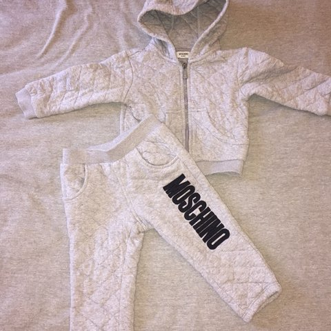 bac2278bd @kirstyvwx. 9 months ago. Liverpool, United Kingdom. Moschino baby boys  tracksuit