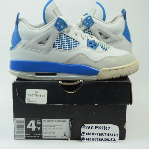 best website 29f68 bb745  monsterthrift. 3 months ago. Boiling Springs, United States. Jordan Retro  4 Grade School ...