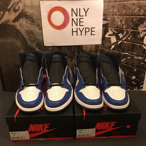 watch 1bc5a 0824f  onlyonehype. 11 months ago. Italia. Air Jordan 1 Retro High OG Game Royal  Size