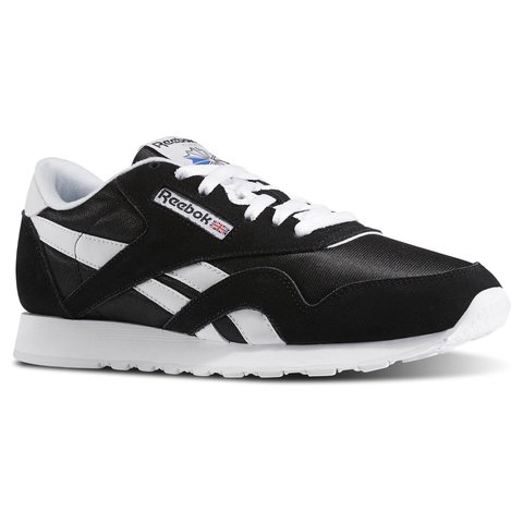 Reebok Classic Nylon Black   White. Really cool trainers 2a4f6becf