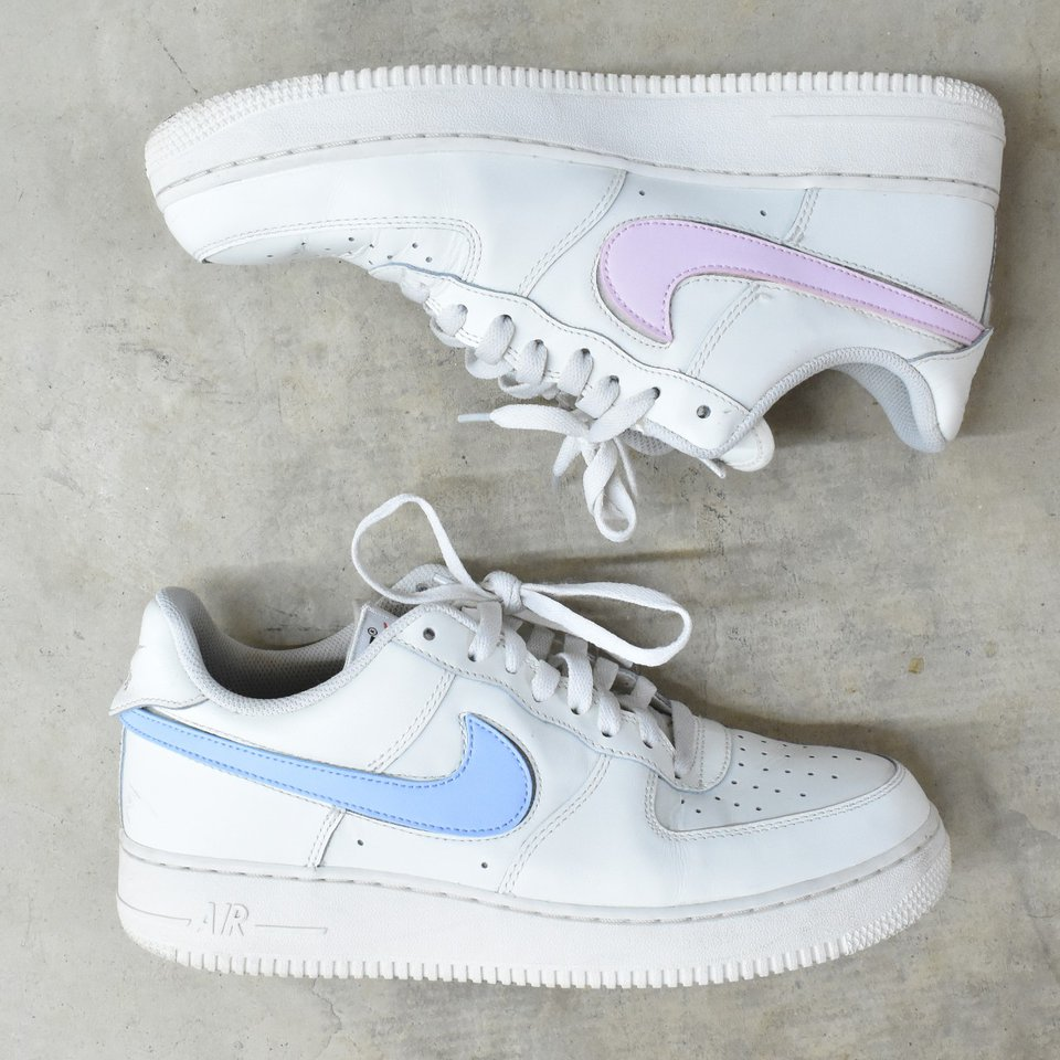 Air Force 1 Swoosh Pack Is Insane!!!
