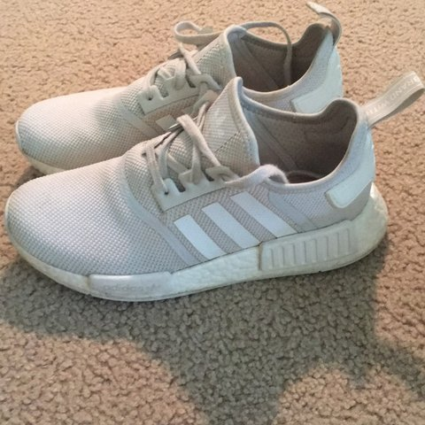 bf9ec579f46a Basically new Adidas Nmd shoes. They retail for 120 . Comes - Depop
