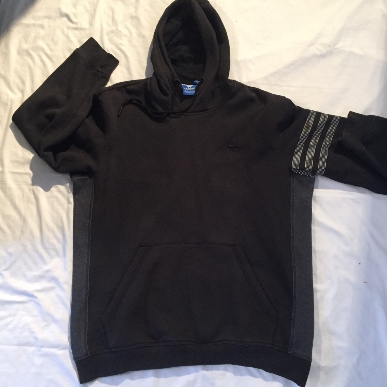 cute new products release date Adidas original X ASAP rocky hoodie with 3M Sleeve... - Depop