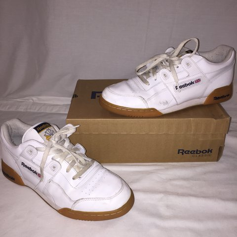8ce508b8de814 Reebok workout plus UK size 10 Condition 5 10 - Depop