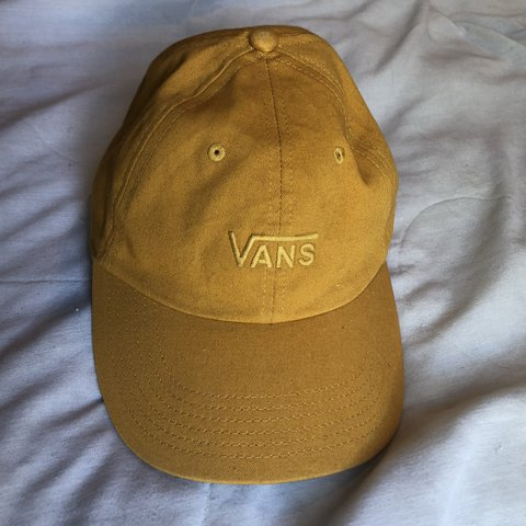 e3cf900ddfae2 Mustard yellow Vans hat! 💛 This is the perfect shade of my - Depop