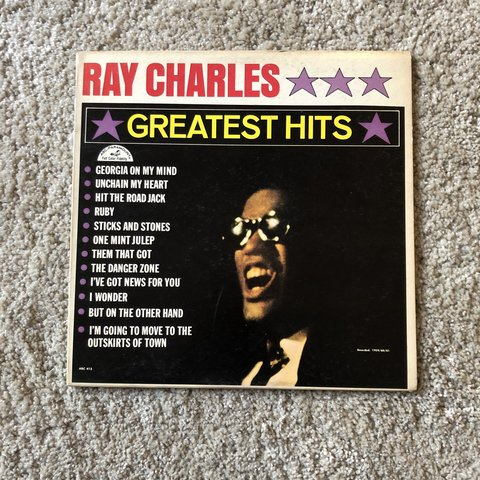 Ray Charles Greatest Hits on Vinyl Get down in to    - Depop