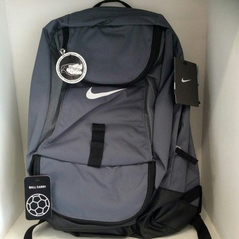 a8b07491bdd Nike Club Team Swoosh Soccer Backpack- NWT Gray- FREE with - Depop