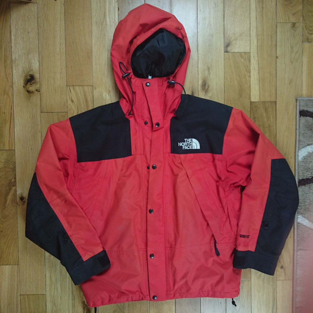8386a807d Mens north face gore-tex coat size large Used but... - Depop