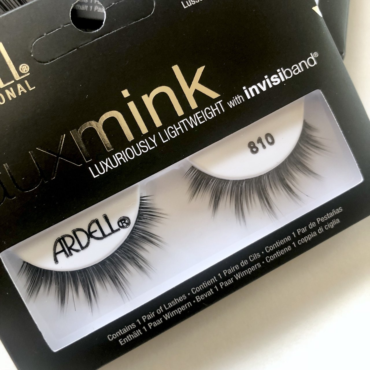 9b622a9956d @vibewithme_. last year. Los Angeles, United States. Ardell Faux Mink Lashes  - #810