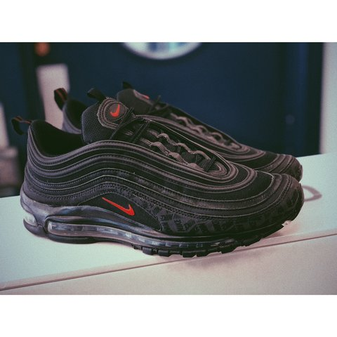 competitive price 05ced 86201  grrd . 2 months ago. Londonderry, United Kingdom. NIKE   AIR MAX 97   BLACK  UNIVERSITY RED   REFLECTIVE LOGOS