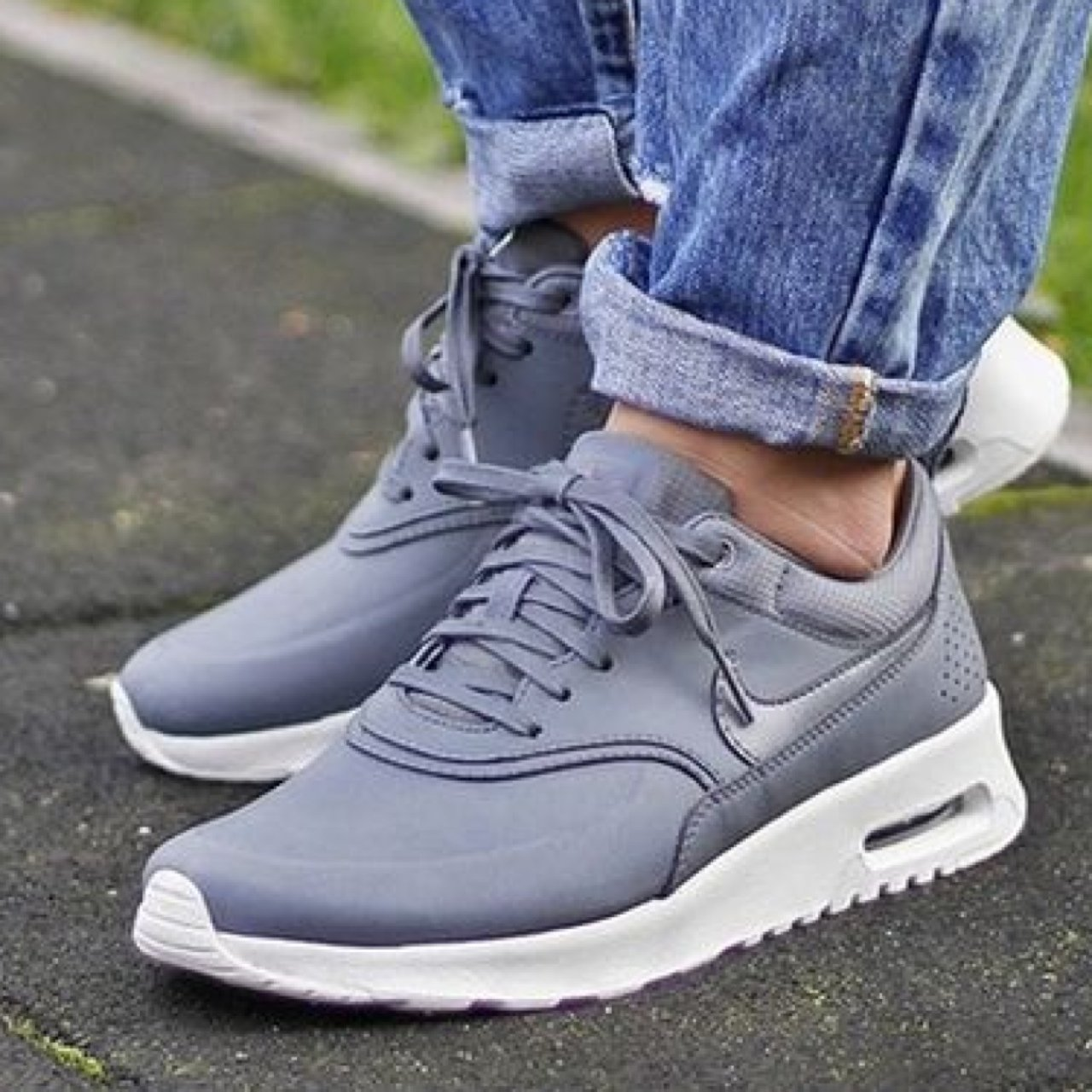 liveworkcreate. 3 years ago. United States. Nike Air Max Thea Premium  Leather Cool Grey ... 970d705b713