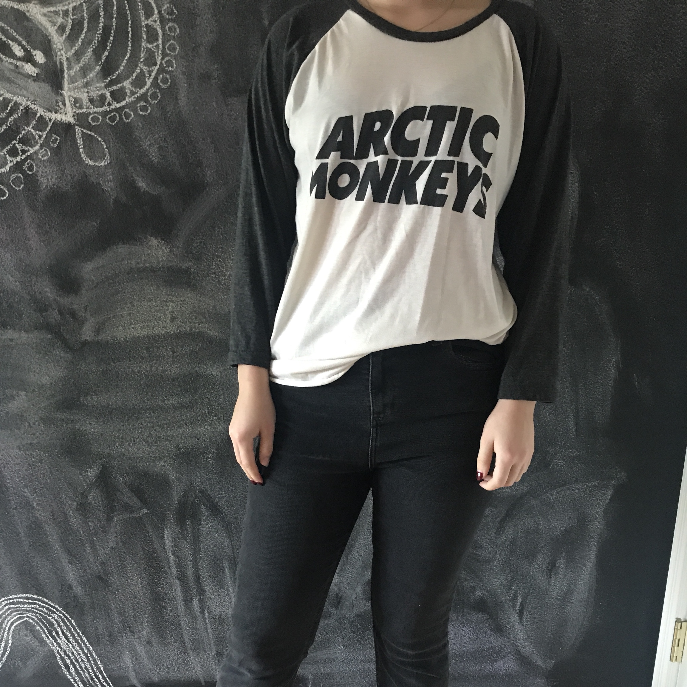 a5ca640bd63 Arctic Monkeys band t-shirt Bought from Camden Market in L - Depop