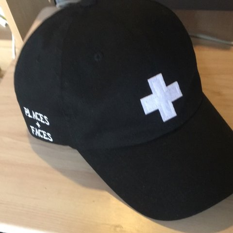 d0d7311b487 Places + Faces Cap Black. Never been worn. PM FOR MORE TO OR - Depop