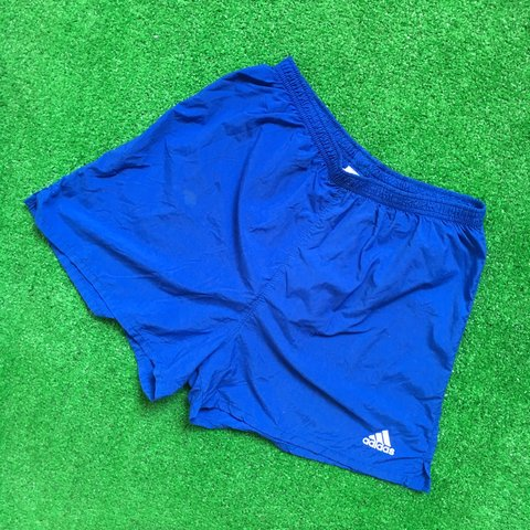 fcfc4206f8 @whitevintageso. FollowingFollow. 3 months ago. Providence, United States. Vintage  90s Adidas Athletic swim trunks short ...