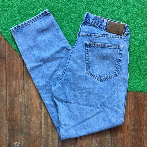 b708ba00f2 Vintage 90s Calvin Klein Union Made in USA Stone Washed High - Depop