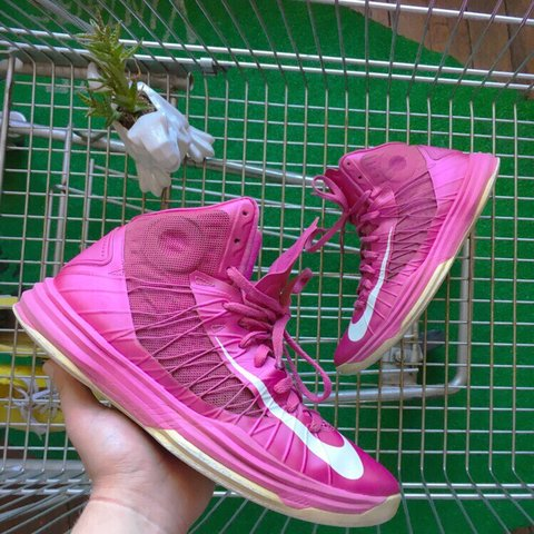 newest f3395 74099  souldoutvintage. 2 hours ago. Providence, United States. Rare Nike Lunar  Hyperdunk Coach Kay Yow Think Pink 2012 ...