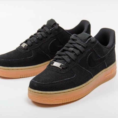 sale retailer 9a5d0 34bed Nike Air Force 1 Black- 0