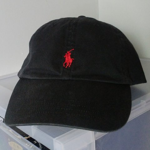 859fab82c Vintage Polo Ralph Lauren Dad Hat Baseball Cap Size in no a - Depop