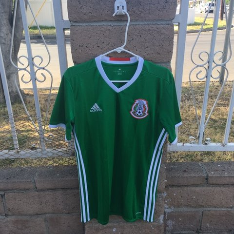 73d298cc823 Mexico 🇲🇽 national team soccer/football shirt/jersey from - Depop
