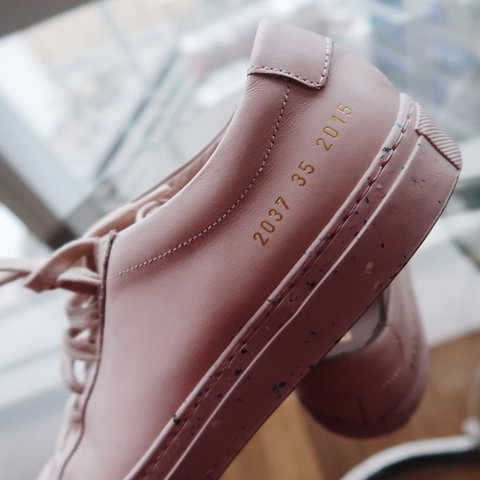 """93dc117f04d7 Dover Street Market X Common Projects Achilles Low """"Pink"""""""