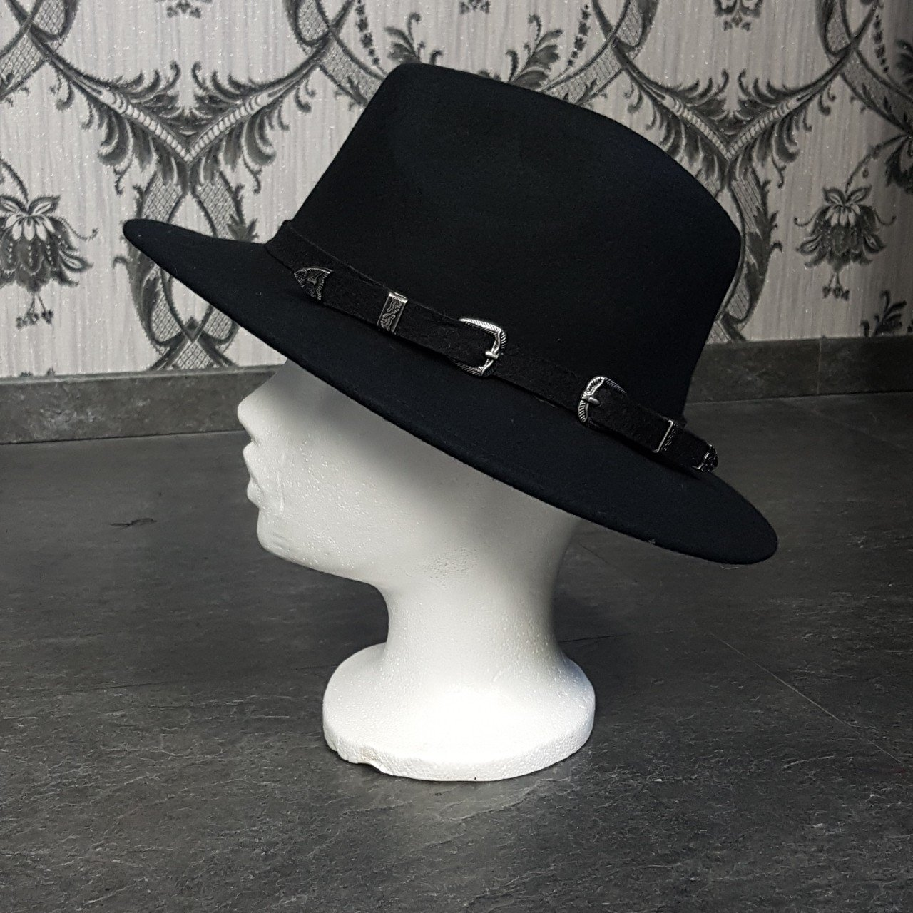 ASOS wide brim hat with western detail. In great condition. - Depop d6a75e4e709