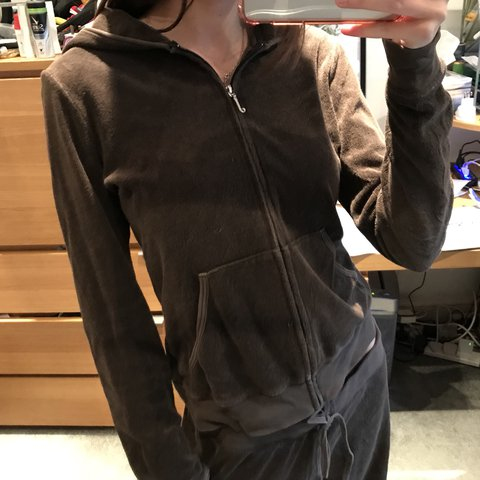 dc96a22de2ac Juicy couture chocolate tracksuit Unique colour - towelling - Depop