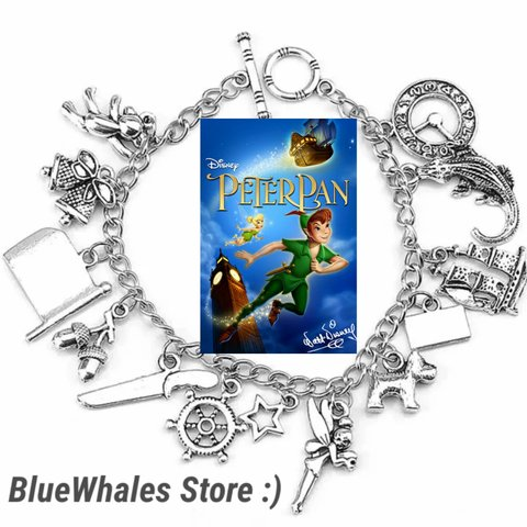 82e47184a @bluewhales. last year. Rowland Heights, Los Angeles County, United States.  Peter ban disney movie bracelet