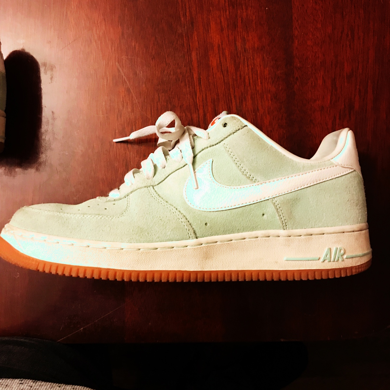 11 Nike Suede 1 Force White Air Green Depop Mint Size 0POkXwn8