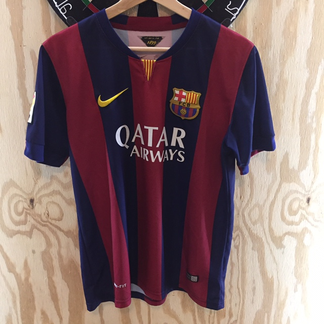 newest f573f c68e3 Nike Barcelona jersey size small *BOUGHT IN... - Depop
