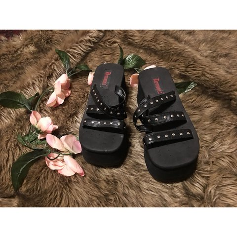 a7ddd7b043f GOTH BEACH DREAM - Demonia size 10 platform sandals - 3 - - Depop