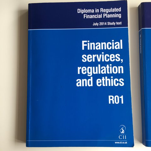 CII Financial Services, Regulation and Ethics: Study Text