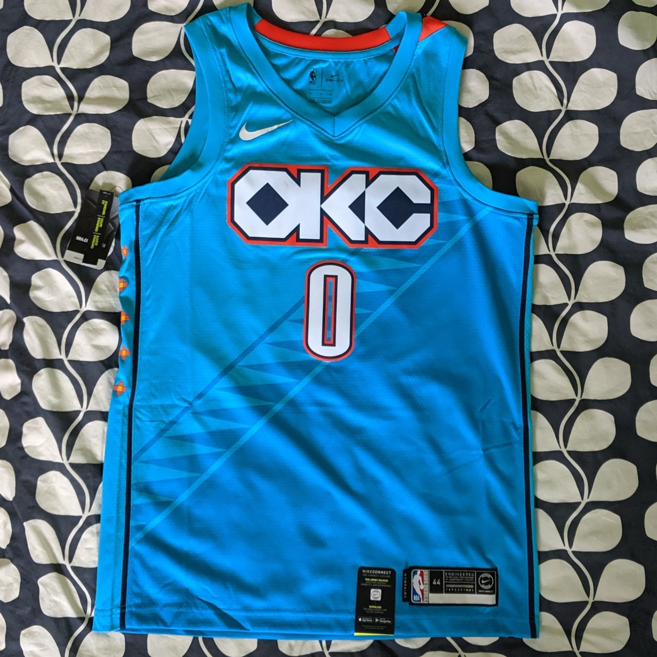 reputable site 327c0 cc198 Nike nba jersey, Oklahoma City thunder Russel... - Depop