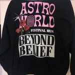 4d261e5bff2b Astroworld Scattered Hoodie A and R are running so selling - Depop