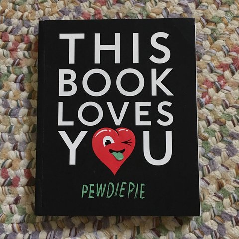 This book loves you by PewDiePie  Like new, only    - Depop