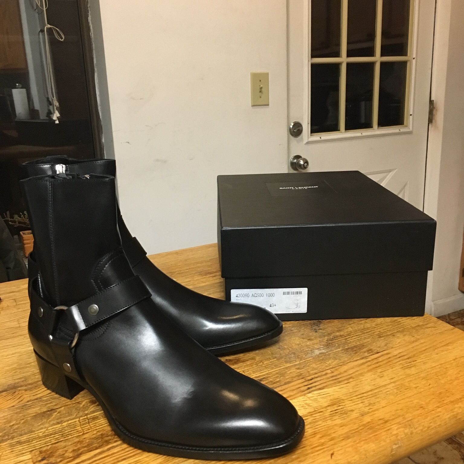 a2c2741e86a BK · yohmi. Boston, United States. Saint Laurent Wyatt Boots ...