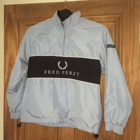 42402ca4 @fmack123. 8 months ago. Stirling, United Kingdom. Vintage Fred Perry pull  over jacket from 90's ...