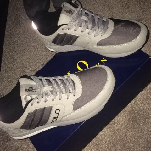 5271cd28414 Ralph Lauren polo trainers Brand new Never worn Size cost - Depop