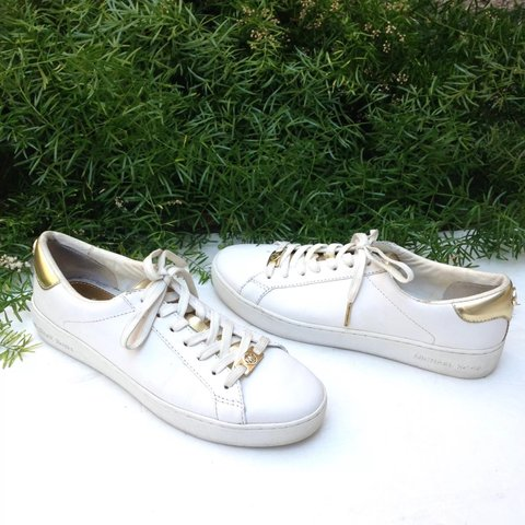 Depop Up Gold Casual Leather Lace Sale Michael White Kors Jet Set c1JuF3KTl