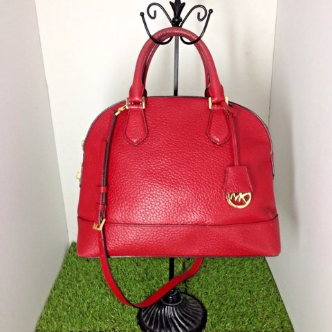 446a2bbf022b @awonderz. 7 months ago. Chino Hills, United States. SALE MICHAEL KORS Red  Leather ...