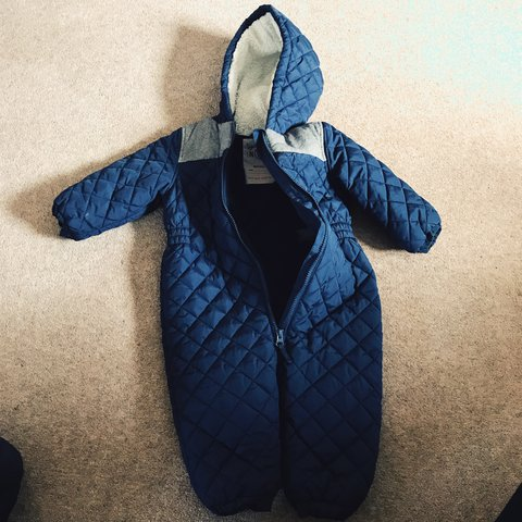 fae4a0060b74 Next all in one snow suit. In excellent condition from smoke - Depop