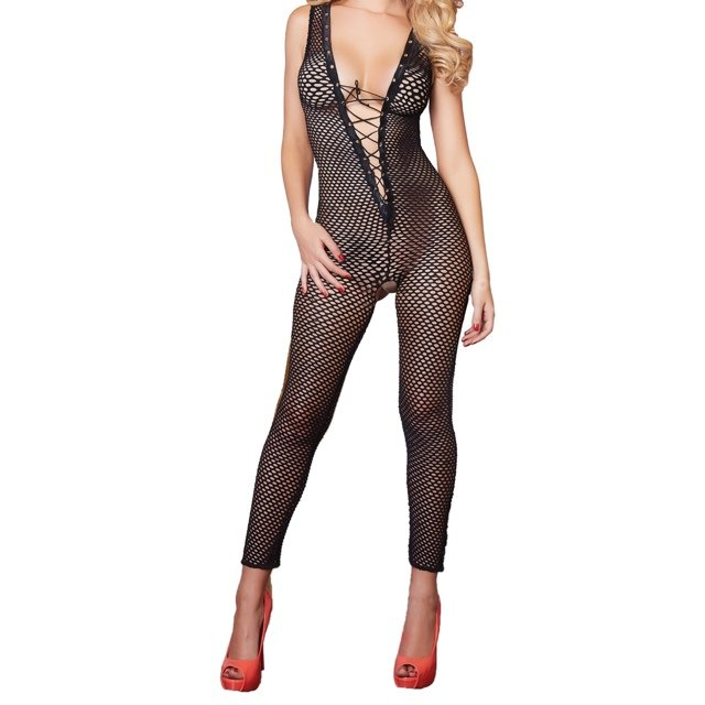 041ea47d559 Total catch bodystocking fishnet. Brand new in the box. with - Depop