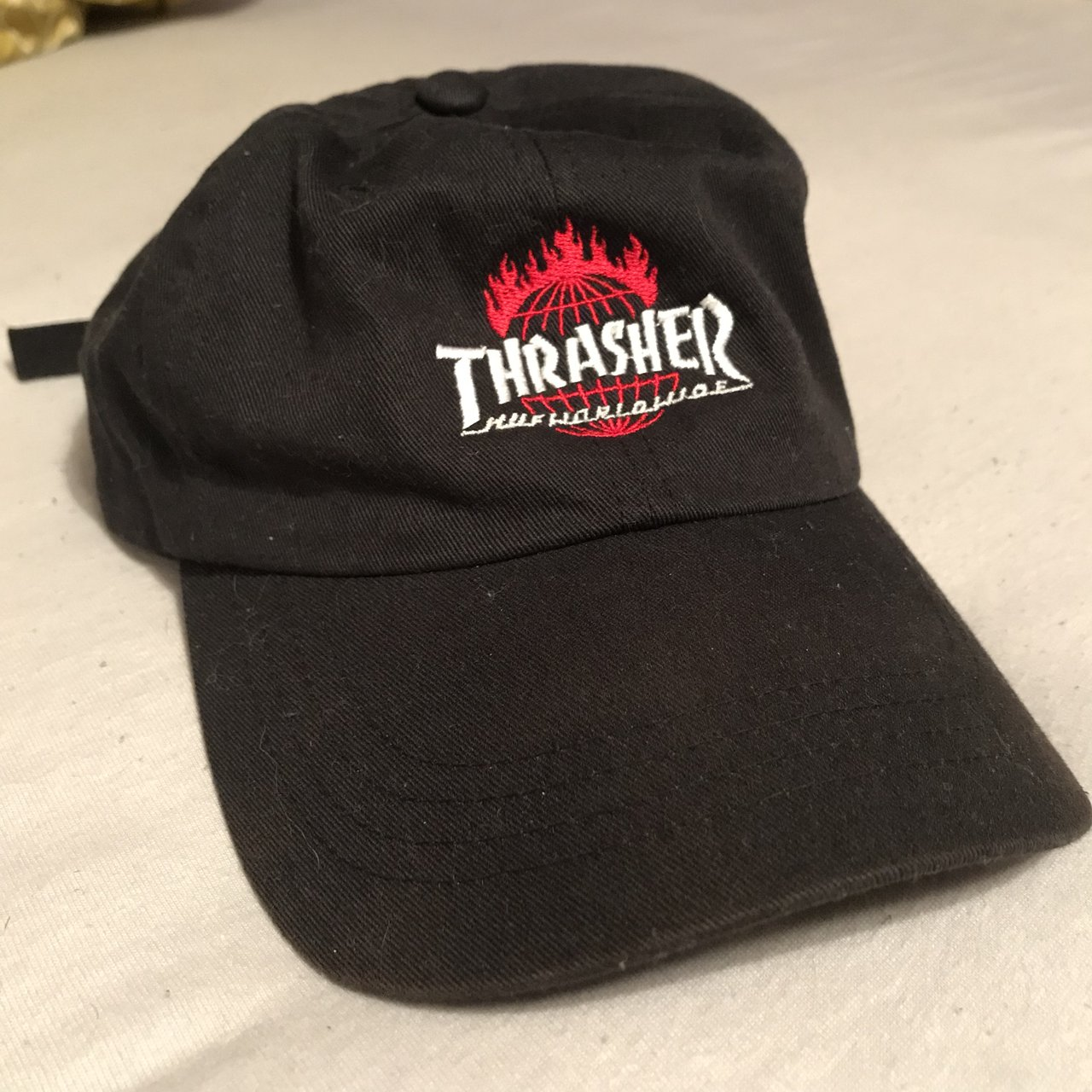 Thrasher HUF dad hat from Zumiez. Worn only a couple times 3b4ab904655