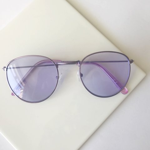 aa9fddd903 brand new tinted sunglasses in lilac plus cheap shipping - Depop